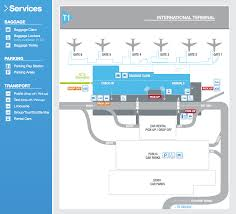 Msp Airport Map Maps Cairns Airport