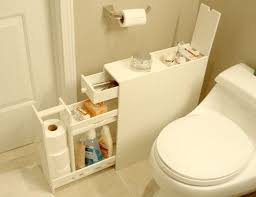 Narrow Bathroom Floor Cabinet 10 Ways To Squeeze Storage Out Of A Small Bathroom Narrow