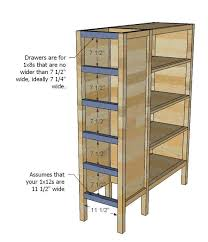 Furniture Plans Bookcase Free by Best 25 Dresser Bookshelf Ideas On Pinterest Cheap Bookcase