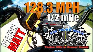 polish matt big blue mile shootout 2017 128 3 mph 1 2 mile