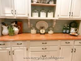 painted kitchen backsplash kitchen budget painted brick backsplash at the everyday