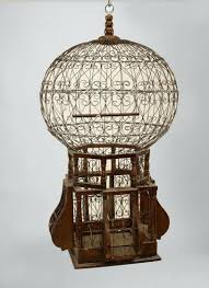 parakeet bird cage with stand large ornate carved wood birdcage