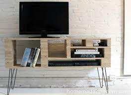 Tv Tables For Flat Screens Diy Tv Stand 10 Doable Designs Bob Vila