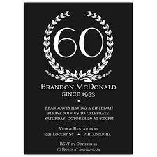 template exquisite 60th birthday invitations australia with