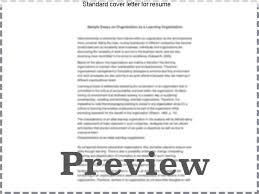 standard cover letter for resume custom paper help