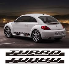 volkswagen beetle race car 2pcs for volkswagen beetle 2010 2016 for vw beetle turbo graphics