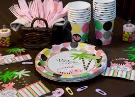 ideas for girl baby shower baby shower supplies boy girl baby shower ideas shindigz