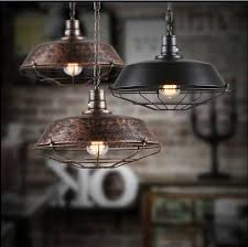 industrial pendant ls vintage retro edison bulb aluminum drop