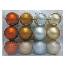 12ct metallics 100mm ornament set wondershop target