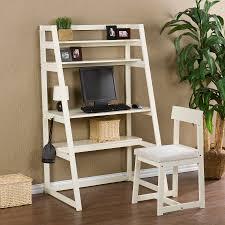 computer desk with shelves white ladder office desk ladder book shelves home office desk for