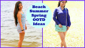 summer ideas what to wear to beach and park