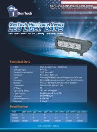 american made led light bar led light bar genuine usa made led chip hurricane series