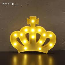Fairy Lights Childrens Bedroom by Aliexpress Com Buy Crown Children Led Night Light Lovely