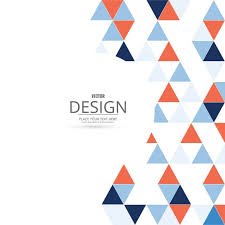 triangle pattern freepik https image freepik com free vector background with red and blue