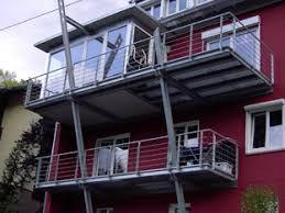 stahlbau balkone balkone als bausatz oder in sonderanfertigung aus stahl verzinkt