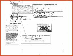 notary signature format program format