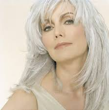 gray hair is on women emmylou harris hair style and gray hair