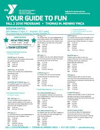 is the ymca open on thanksgiving thomas m menino ymca 2016 fall 2 program guide by ymca of