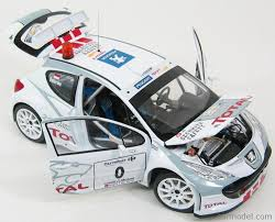 peugeot 207 rally sun star 05431 scale 1 18 peugeot 207 s2000 n 0 safety car rally
