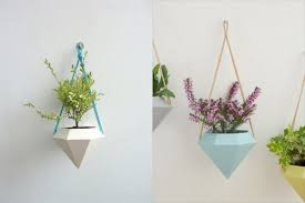 Modern Hanging Planters Modern Greenery 6 Stylish New Ways To Keep Indoor House Plants