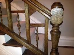 How To Refinish A Banister The Restoration Of A Hundred Year Old Chicago Oak Banister