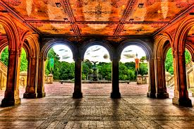 wedding arch nyc bethesda terrace central park nyc central park and city