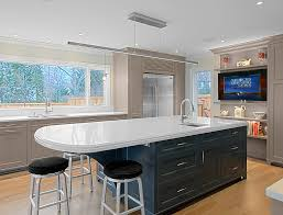 white kitchen cabinets with blue island gray kitchen cabinets w blue island transitional kitchen