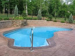 Backyard Inground Swimming Pools Swimming Pools In Very Small Backyards Inground Swimming Pools For