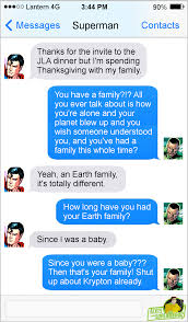 texts from superheroes happy thanksgiving from texts from