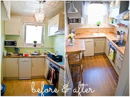 Kitchen Small Galley Kitchen Makeover With Brick by 10 Small Kitchen Makeovers Small Kitchen Remodels Kitchen Upgrades