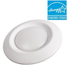 Install Can Lights In Existing Ceiling by Commercial Electric 6 In Soft White Recessed Led Can Disk Light