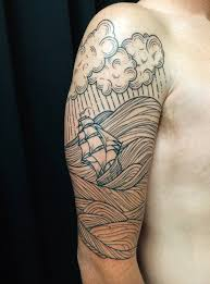 stormy seas by william dolittle studio city tattoo los angeles