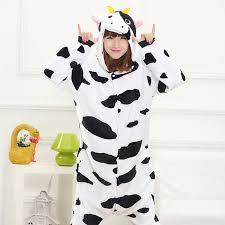 buy panda onesies for adults flannel anime pajama cartoon unisex