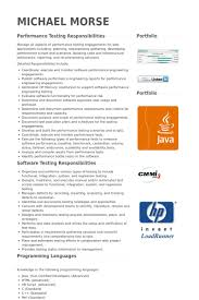 Sample Software Testing Resume by Software Test Engineer Resume Samples Visualcv Resume Samples