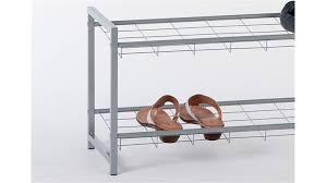 schuhregal verstellbar metall modernes schuhregal indoo haus design