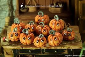 pixie dust miniatures kooky jack o lanterns