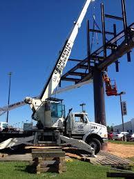 crane rental beaumont tx u2013 crane services and auger serving