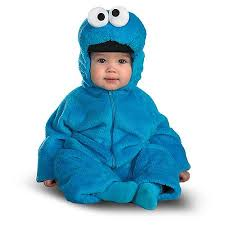 Infant Halloween Costumes Sesame Street Cookie Monster Infant Halloween Costume Walmart