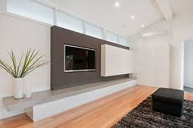 modern built in tv cabinet wheelers hill modern home theater melbourne by orana custom