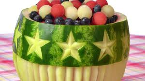 Cool Fruit Bowls Stars And Stripes Watermelon Bowl Ideas Great For 4th Of July