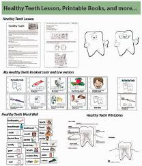 kindergarten and preschool healthy teeth lessons and activities