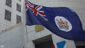 Hk Flag British Consulate Protesters Say Uk Should Speak Up For Hk