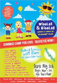 summer camp flyer templates u2013 47 free jpg psd esi indesign