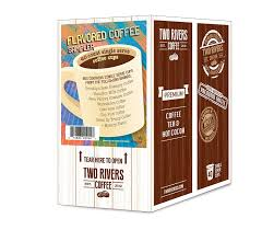 two rivers flavored sler pack single cup coffee for keurig k