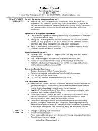 Logistics Management Specialist Resume Security Specialist Resume Free Resume Example And Writing Download