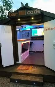 Cool Backyard Sheds 50 Pub Shed Bar Ideas For Men Cool Backyard Retreat Designs