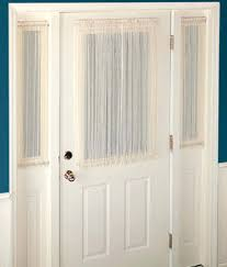Small Curtain Rods For Sidelights by Window Blinds Side Window Blinds Glass Front Door Coverings