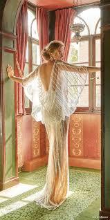 20 gorgeous wedding dresses with flutter sleeves deer pearl flowers