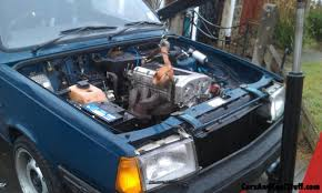 volvo v6 volvo 340dl engine swap part six getting the clio 1 8 16v f7p
