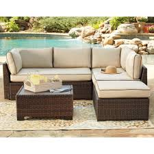 patio sectional sofa signature design by ashley loughran outdoor sectional set with
